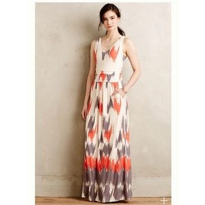 Maeve Anthropologie |Sabine Maxi Dress| M